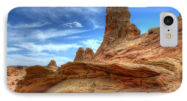 South Coyotte Buttes 8 Phone Case by Bob Christopher