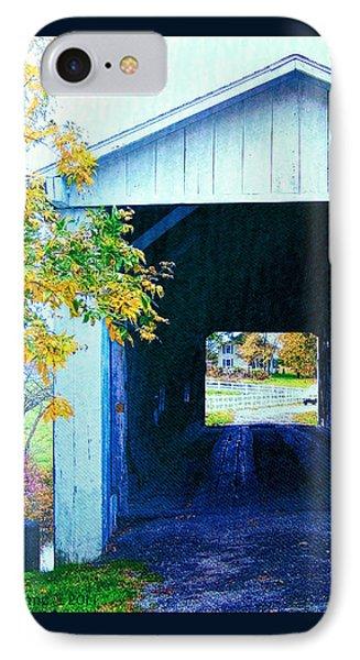 South Denmark Rd. Covered Bridge IPhone Case