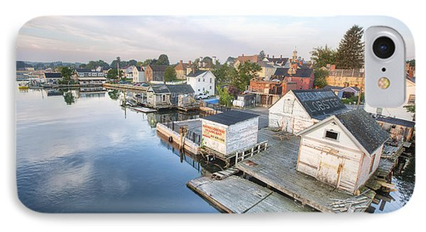 South End Docks IPhone Case by Eric Gendron