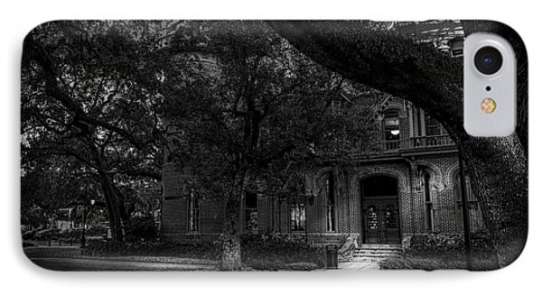 South Entry Black And White Phone Case by Marvin Spates