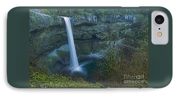 IPhone Case featuring the photograph South Falls Winterscape by Nick  Boren