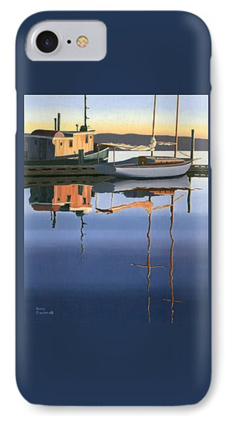 South Harbour Reflections Phone Case by Gary Giacomelli