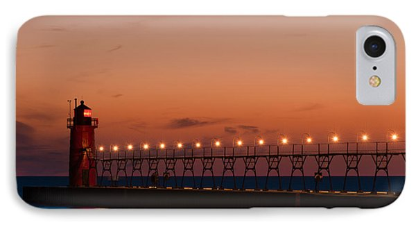 South Haven Reflection Phone Case by Sebastian Musial