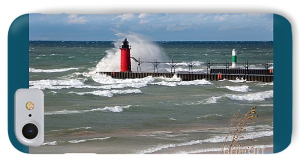 South Haven Splash IPhone Case by Ann Horn