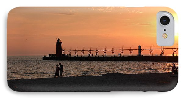 South Haven Sunset IPhone Case