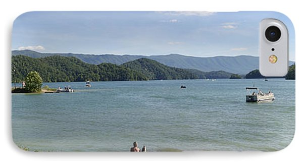 South Holston Lake - Panorama - Tennessee IPhone Case by Brendan Reals