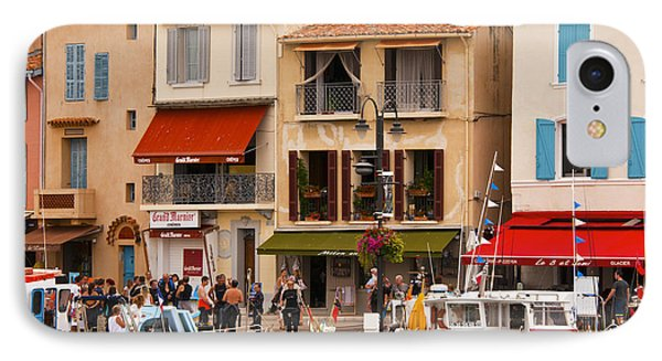 South Of France Fishing Village Phone Case by Bob Phillips