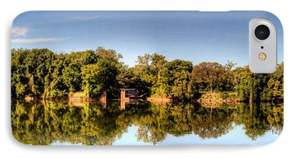 IPhone Case featuring the digital art South Of The James by Kelvin Booker