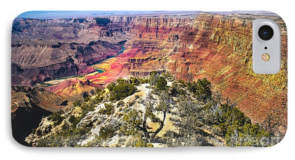 South Rim From The Butte Phone Case by Robert Bales