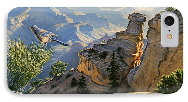 South Rim Morning IPhone Case by Paul Krapf