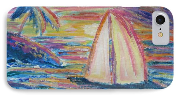 South Seas Sunset IPhone Case by Diane Pape