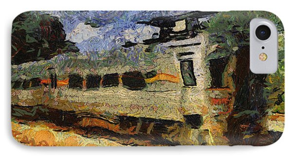 South Shore Train Photo Art 04 IPhone Case by Thomas Woolworth