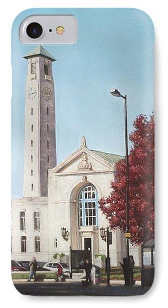 Southampton Civic Center Public Building IPhone Case