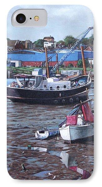 Southampton Northam Boats Phone Case by Martin Davey