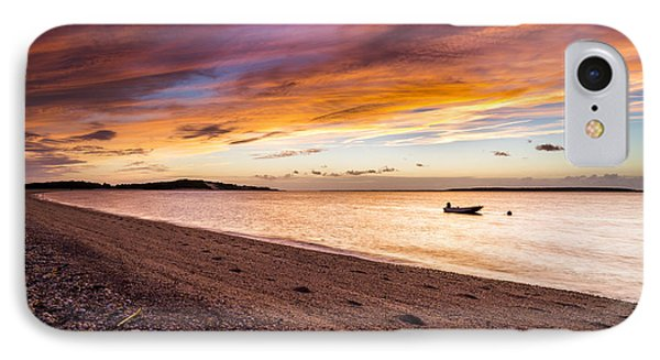 Southampton Shores Sunset IPhone Case by Ryan Moore