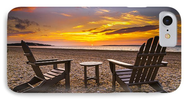 Southampton Shores View For 2 IPhone Case by Ryan Moore