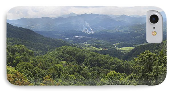 Southern Appalachian Mountains - Panoramic IPhone Case by Mike McGlothlen