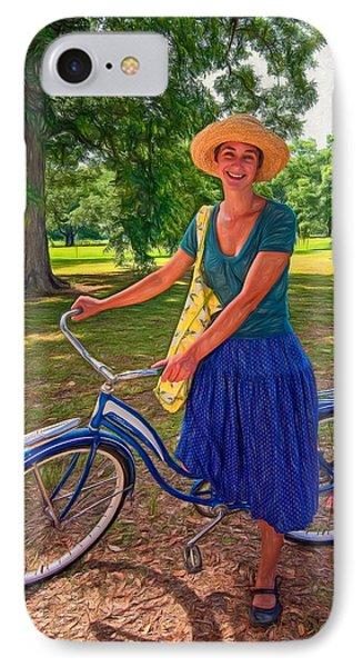 Southern Belle - Paint IPhone Case by Steve Harrington