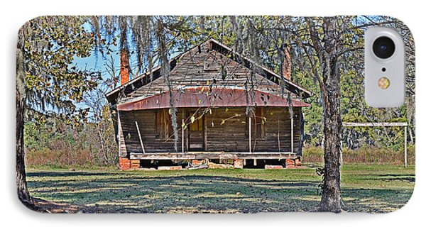 IPhone Case featuring the photograph Southern Cabin by Linda Brown