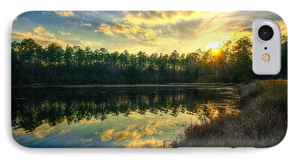 IPhone Case featuring the photograph Southern Creek by Maddalena McDonald