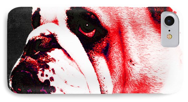 Southern Dawg By Sharon Cummings Phone Case by Sharon Cummings