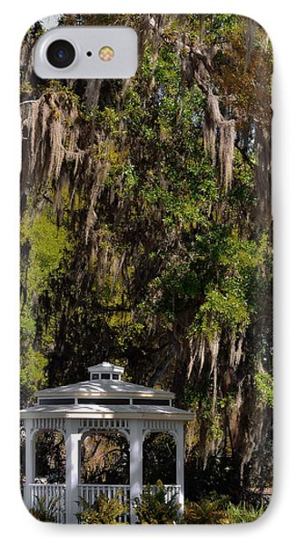 Southern Gothic In Mount Dora Florida Phone Case by Christine Till