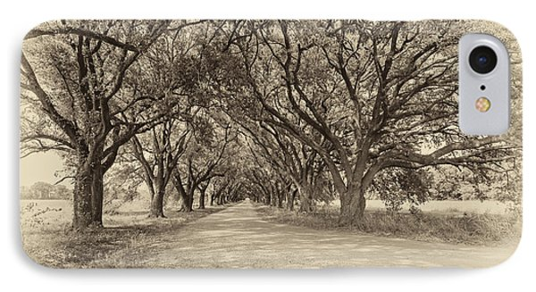 Southern Journey Sepia IPhone Case