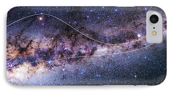 Emu iPhone 7 Case - Southern Milky Way by Babak Tafreshi