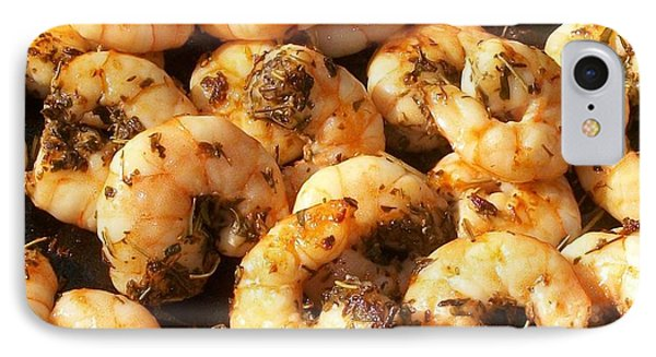 Southern Shrimp Italiano IPhone Case by Cleaster Cotton copyright