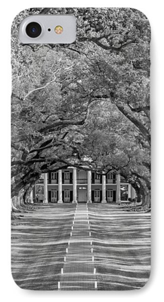 Southern Time Travel Bw IPhone Case by Steve Harrington