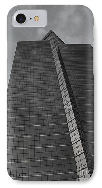 Southfield Hi Rise Black And White Phone Case by Bill Woodstock