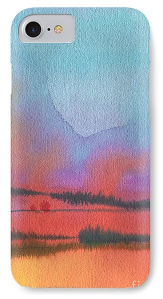 IPhone Case featuring the painting Southland by Donald Maier