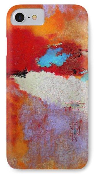 Southwest Color Burst IPhone Case by M Diane Bonaparte