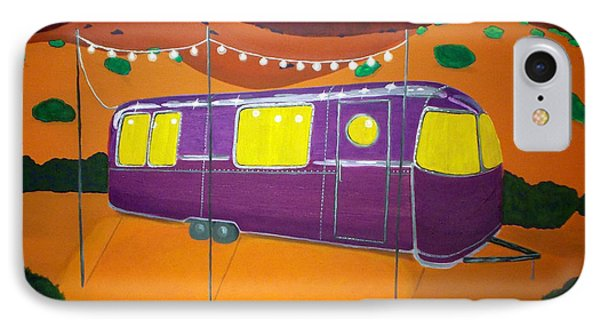 Southwest Contemporary Art - Sedona Twilight IPhone Case by Karyn Robinson