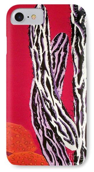 Southwest Contemporary Art - The Wild Wild West IPhone Case by Karyn Robinson