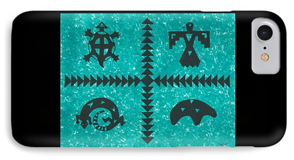 Southwest Symbols IPhone Case