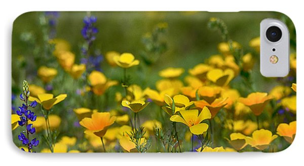 Southwest Wildflowers  Phone Case by Saija  Lehtonen