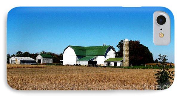 Soybean Farm Phone Case by Tina M Wenger