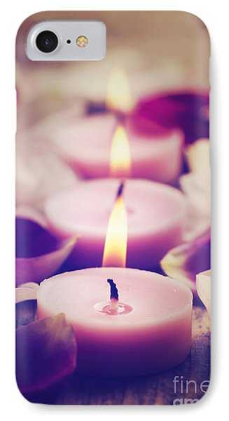 Spa Candles Phone Case by Jelena Jovanovic