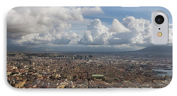 Spaccanapoli - The Historic Main Street That Divides The Center Of Naples Italy IPhone Case
