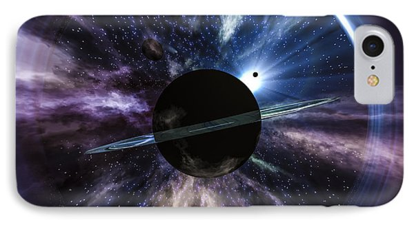Space IPhone Case by Arlene Sundby