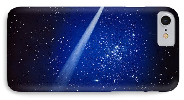 Space, Comet And Stars IPhone Case