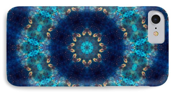 Space Kaleidoscope IPhone Case by Pete Trenholm
