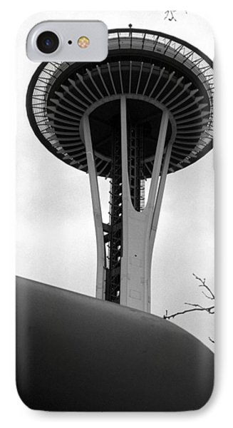 Space Needle Phone Case by Kirt Tisdale