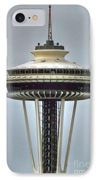 Space Needle Tower Seattle Washington IPhone Case
