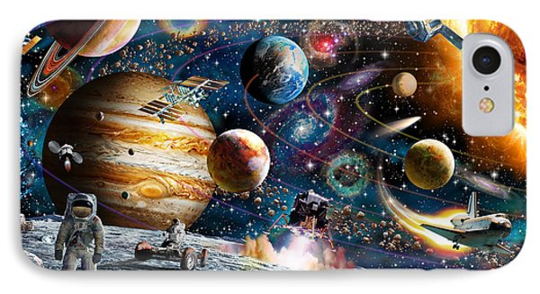 Space Odyssey IPhone Case by Adrian Chesterman