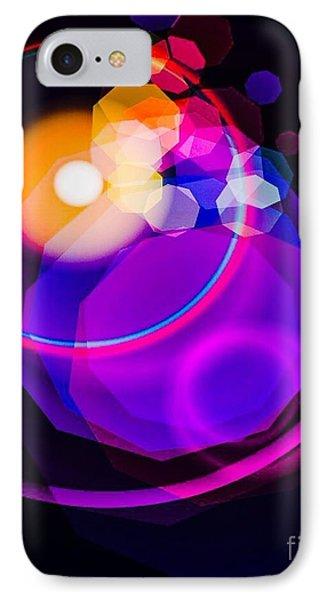 Space Orbit IPhone Case by Gayle Price Thomas