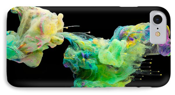 Space Romance - Abstract Photography Art IPhone Case by Modern Art Prints