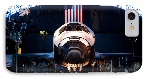 Space Shuttle Discovery IPhone Case by Patti Whitten