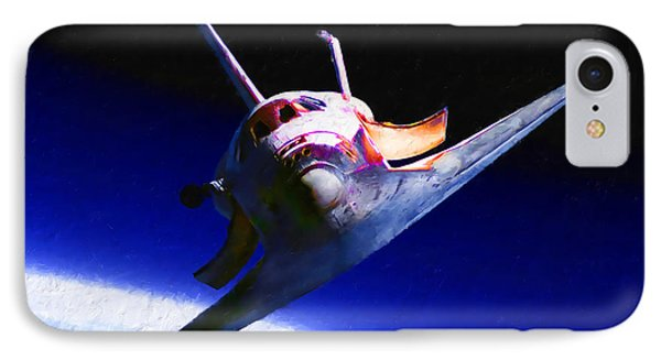 Space Shuttle Head On IPhone Case